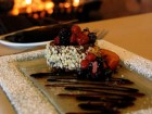 Chocolate Almond Torte with Berries