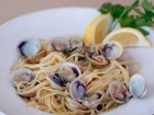 Grilled Clams Linguine