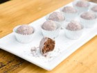 Rose Spumante Truffles